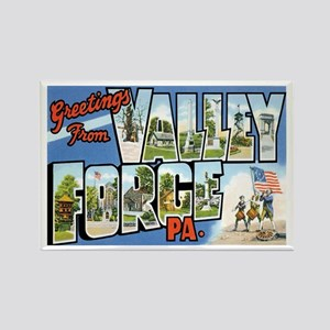 Valley Forge PA Rectangle Magnet