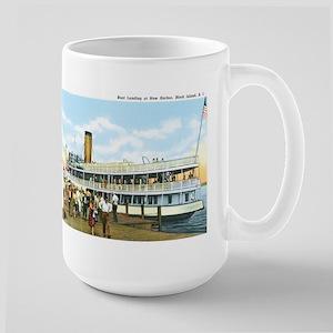 Block Island RI Large Mug