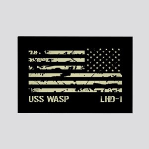 USS Wasp Rectangle Magnet