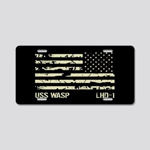 USS Wasp Aluminum License Plate