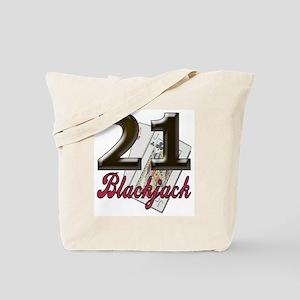 Blackjack/black 21: Tote Bag