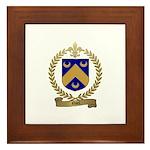 NOEL Family Crest Framed Tile