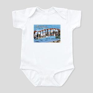 Charleston baby clothes accessories cafepress charleston sc infant bodysuit negle Gallery