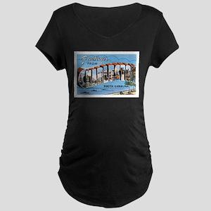 Charleston SC Maternity Dark T-Shirt