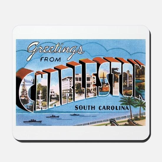 Charleston SC Mousepad