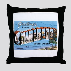 Charleston SC Throw Pillow