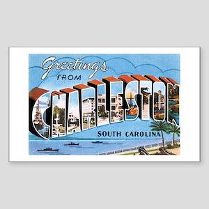 Charleston SC Rectangle Sticker