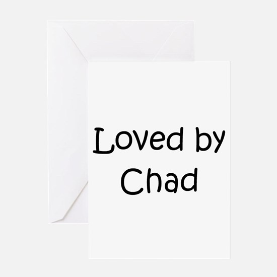 Cool Chad Greeting Card