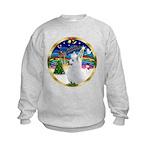 XmasMusic 3/Am Eskimo #3 Kids Sweatshirt