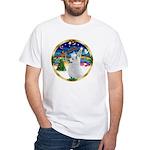 XmasMusic 3/Am Eskimo #3 White T-Shirt