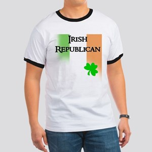 Irish Republican with Faded T Ringer T