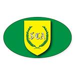SCA Oval Sticker (10 pk)