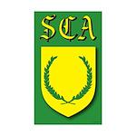 SCA Rectangle Sticker 10 pk)