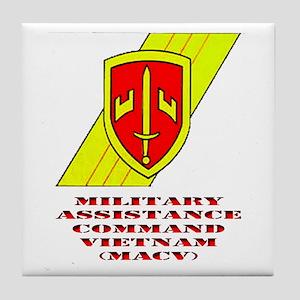 MACV Tile Coaster