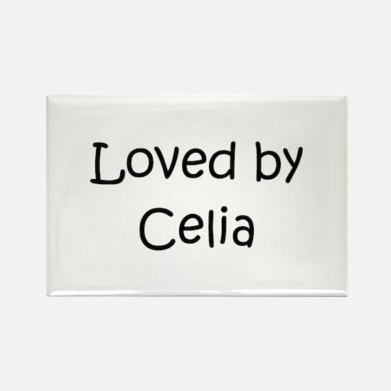 Funny Celia Rectangle Magnet