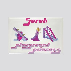 Vanessa - Playground Princess Rectangle Magnet
