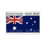 Cocos Islands Rectangle Magnet (100 pack)