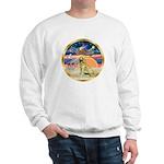 XmasStar/Golden #1 Sweatshirt