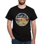 XmasStar/Golden #1 Dark T-Shirt
