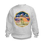 XmasStar/Golden #1 Kids Sweatshirt