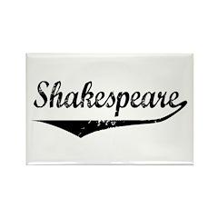 Shakespeare Rectangle Magnet