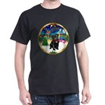 Xmas Musc 3/Cavalier Dark T-Shirt