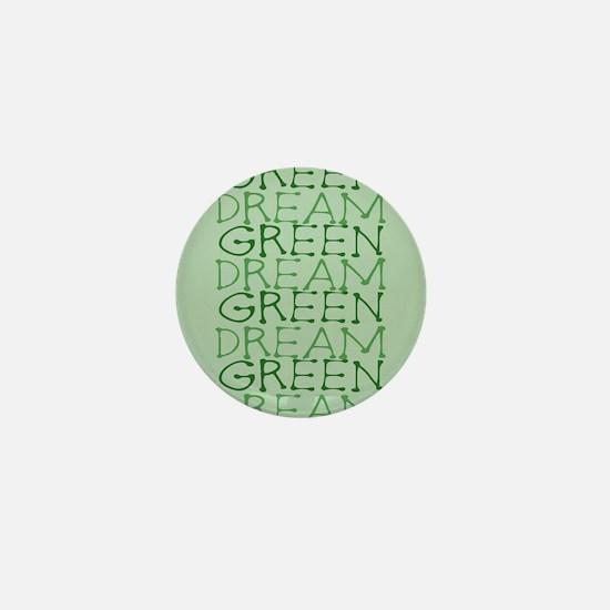 Dream Green Mini Button