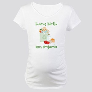 Home Birth 100% Organic - Light Baby Maternity T-S