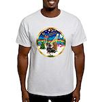XmasMusic 3/2 Dachshunds Light T-Shirt