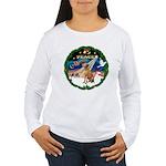 XmasSunrise/Vizsla Women's Long Sleeve T-Shirt
