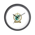 OUIMET Family Crest Wall Clock