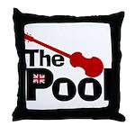 The Pool Throw Pillow