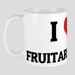 I Love Fruitarianism Mug