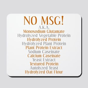 No MSG Mousepad