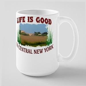 Life Is Good in CNY Large Mug