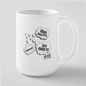 Get Over It Large Mug