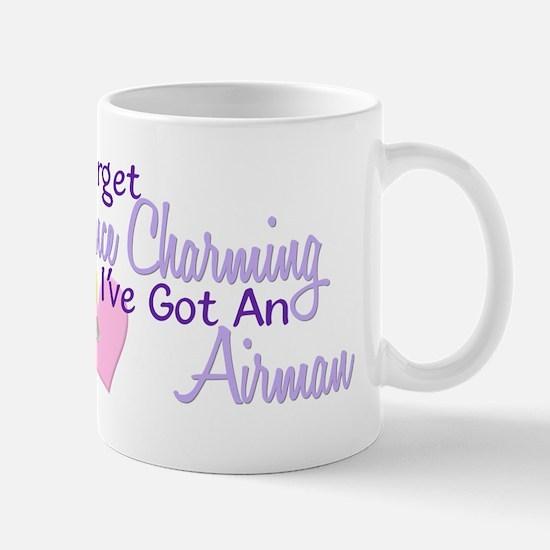 Forget Prince Charming - Airman Mug