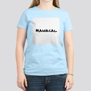 Maniacal Women's Pink T-Shirt