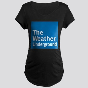 WeatherUnderground Maternity T-Shirt