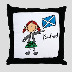 Scotland Ethnic Throw Pillow