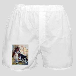 Vintage Basset Hound Boxer Shorts