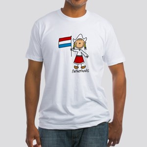 Netherlands Ethnic Fitted T-Shirt