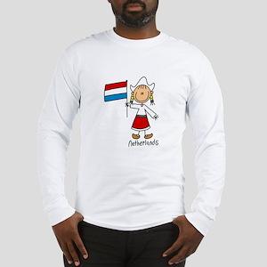 Netherlands Ethnic Long Sleeve T-Shirt