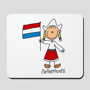 Netherlands Ethnic Mousepad