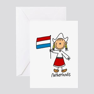 Netherlands Ethnic Greeting Card