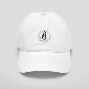 Basset Hound Christmas Cap