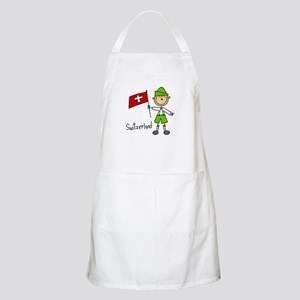 Switzerland Ethnic BBQ Apron
