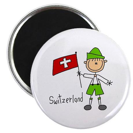 "Switzerland Ethnic 2.25"" Magnet (10 pack)"