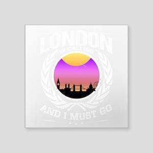 London is Calling City Skyline Sunset Sticker