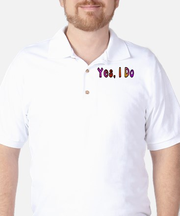 Yes, I Do - sunset: Golf Shirt